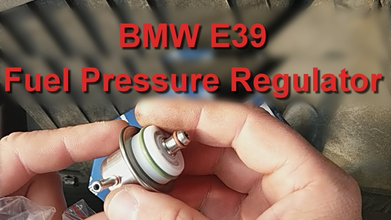 bmw e39 520i 1996 fuel pressure regulator change [ 1280 x 720 Pixel ]