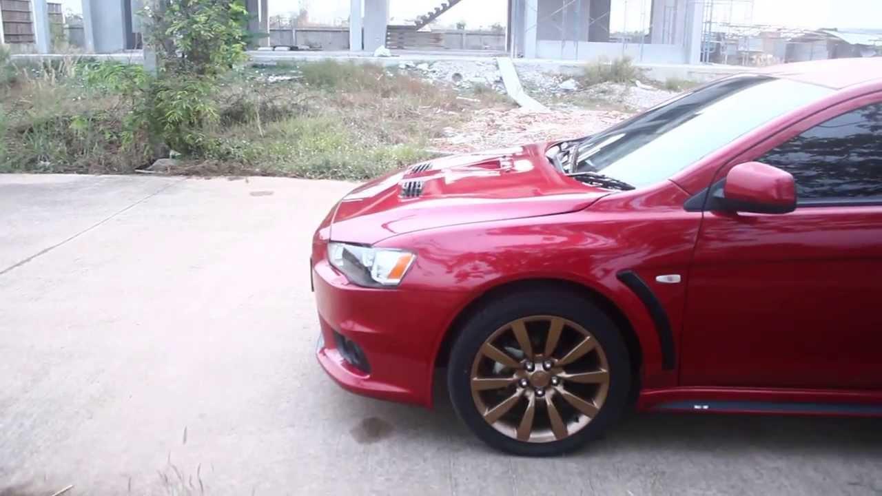 Evo X Rally Red Paint Code