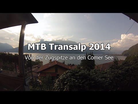MTB Transalp 2014: Von der Zugspitze an den Comer See