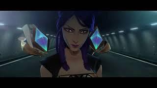 KDA   POPSTARS ft Madison Beer GI DLE Jaira Burns  Official Music Video   League of Legends 1