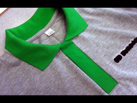 DIY Sewing course how to sew a polo shirt lacosta . Kurs szycia plisa polo koszulka z dzianiny
