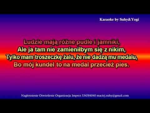 Fasolki -  Kundel Bury (Karaoke HD Suhy&Yogi)