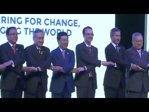 ASEAN 50: DPRK, South China Sea dominate Manila talks