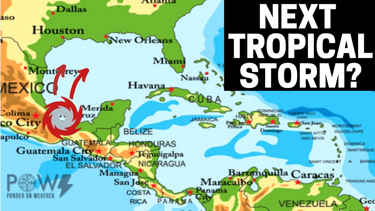 Next Tropical Storm Developing! POW Weather Channel