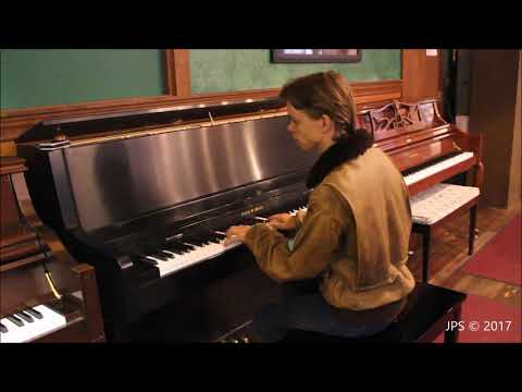 In Search of the World's Greatest Upright Pianos, Part 8: Charles Walter upright