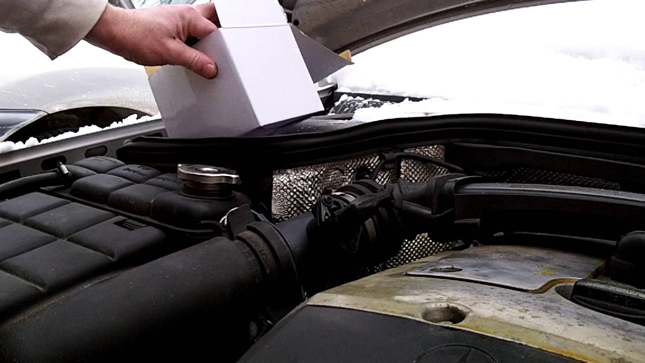 maxresdefault mass airflow sensor maf replacement mercedes w202 youtube  at eliteediting.co