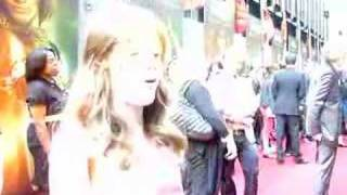 Georgie Henley on Red Carpet at Prince Caspian Premiere