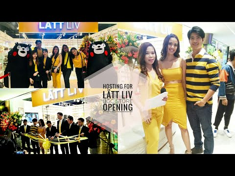 Hosting for LÄTT LIV Philippines' Store Opening at Uptown BGC | Events With Yheng