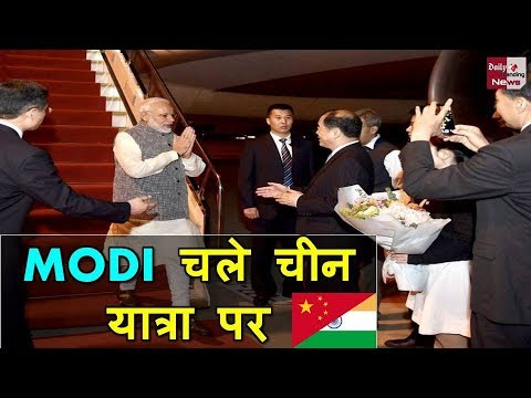 INDIA CHINA MEET: WATCH, President Xi Jinping welcomes PM Modi at Hubei Provincial Museum