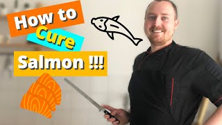 How To Cure Salmon! Easy Beetroot Gravlax Recipe!