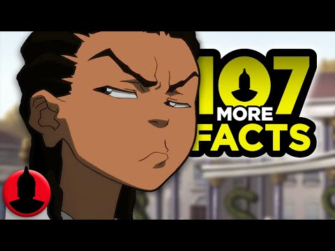 107 MORE Facts About The Boondocks YOU Should Know - Adult Swim Facts  (107 Facts S7 E24)