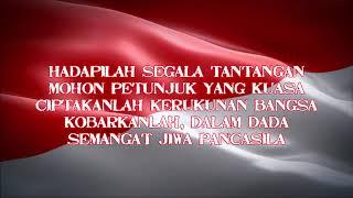 Indonesia jaya ~ aransemen baru (Nada Dasar Pria) Karaoke