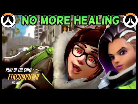 Season 8 is TRASH, So Now I'm Only Playing DPS  (Sombra & Mei Match)