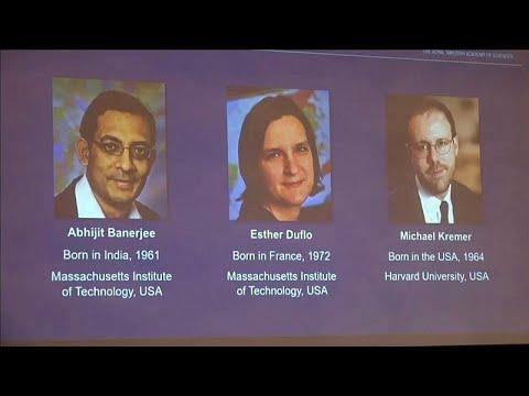 فوز أمريكيين اثنين وفرنسية - أمريكية بجائزة نوبل للاقتصاد…  - 14:56-2019 / 10 / 14