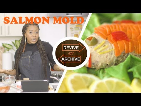 Canned Salmon & Gelatin?! Molded Salmon from the 1920's