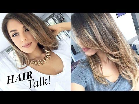 HAIR TALK! ♥ (Fav Products, My Cut & Color, Maintenance) | Annie Jaffrey