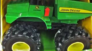 Monster Treads John Deere Dump Truck!