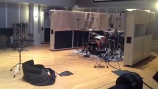 splittract recording studio drums