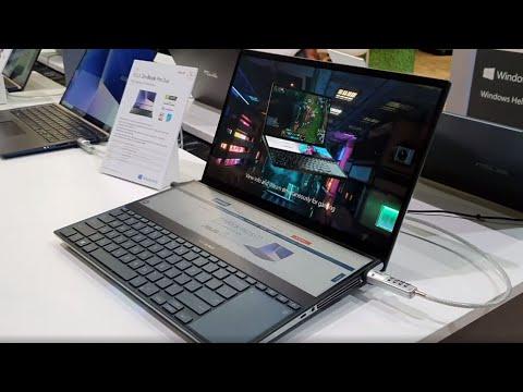 #IFA2019: Asus ZenBook Pro Duo mit Screenpad Plus I Cyberport