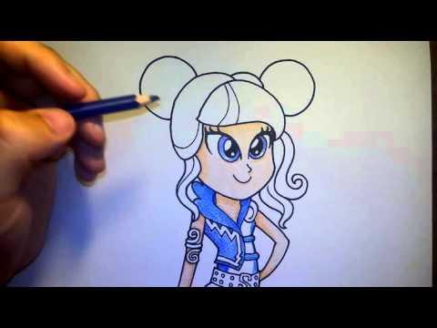 (ระบายสี) วาดรูปการ์ตูน มายลิตเติ้ลโพนี่ ซาวสวีท my little pony sour sweet EG