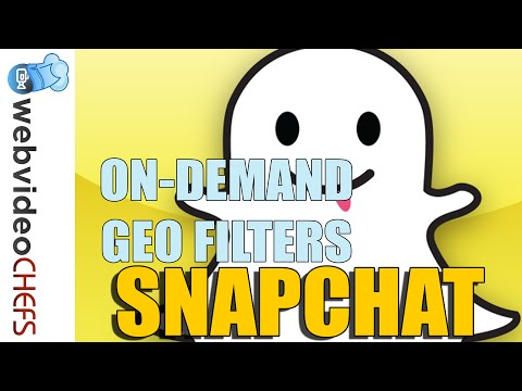Snapchat:: How to create on demand Geo filters
