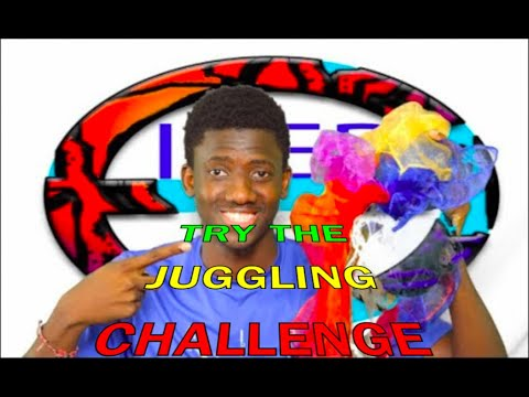 Fun kids scarf/plastic bag juggling at home | PE at home Fitness games