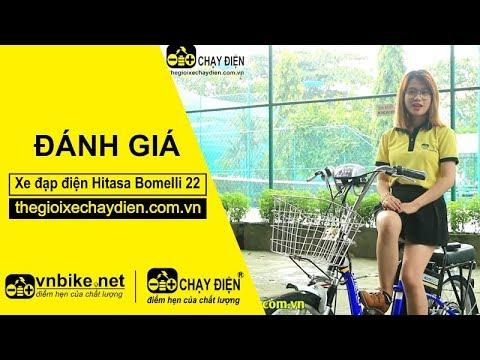 Đánh giá xe đạp điện Hitasa Bomelli 22