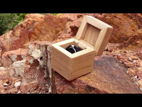 Making a homemade ring box
