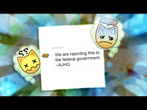 GETTING ARRESTED FOR PLAYING ANIMAL JAM!?!