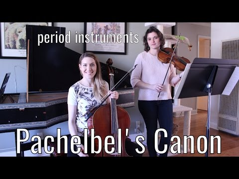 Pachelbel Canon in D (is NOT boring!) - on period instruments/baroque violin/cello