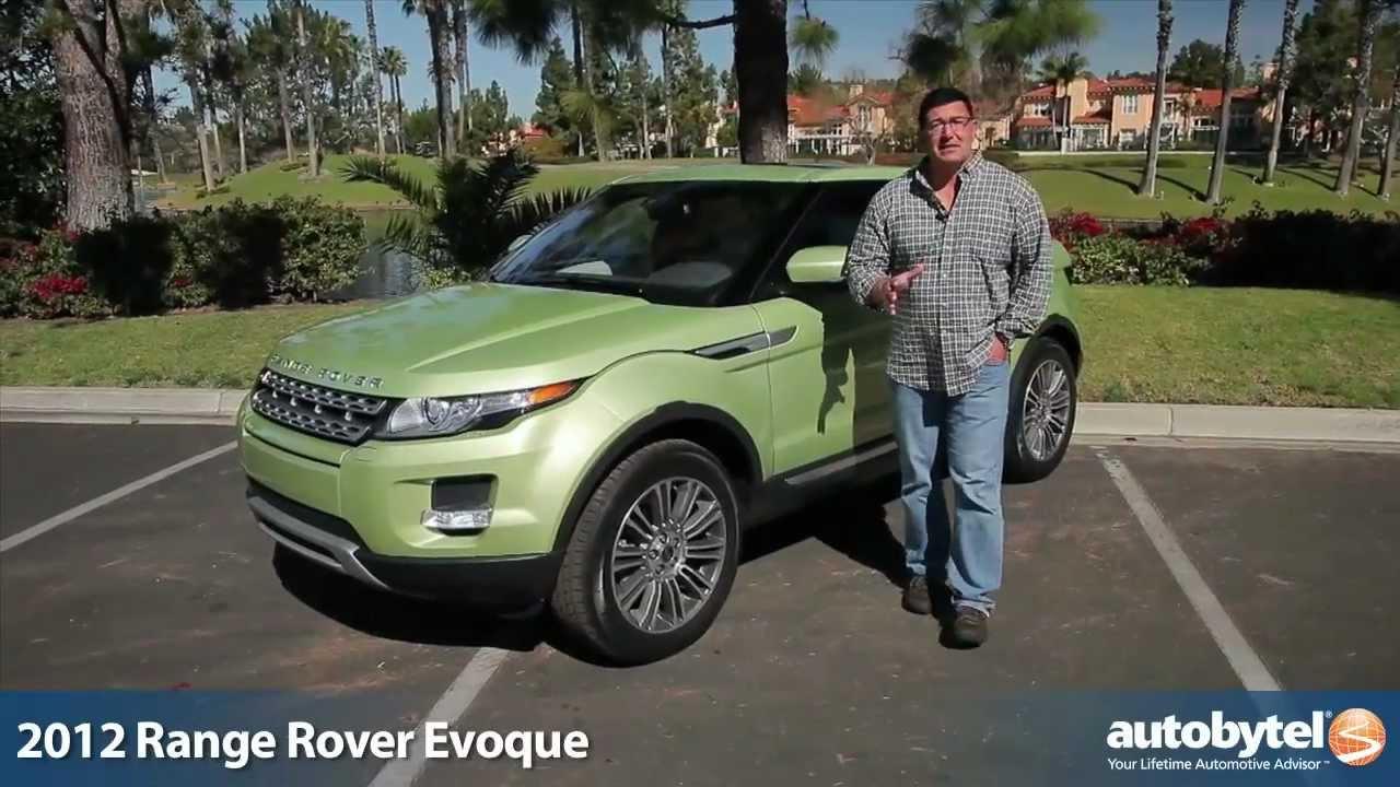 2012 range rover evoque test drive suv review youtube. Black Bedroom Furniture Sets. Home Design Ideas