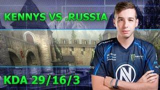POV kennyS vs .Russia - Cobblestone | KDA 29/16/3
