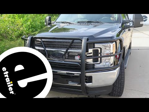 Westin HDX Winch Mount Grille Guard with Punch Plate Review - etrailer.com