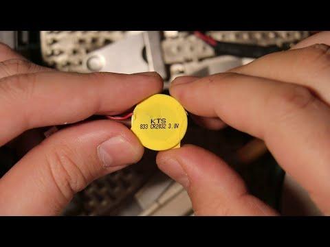Правила и нюансы при замене батарейки BIOS