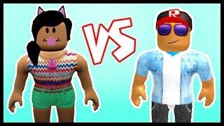 BF vs GF in Roblox!