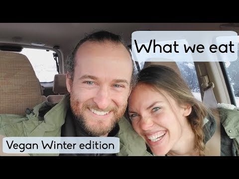 WHAT WE EAT IN A DAY #5 // VEGAN // WINTER