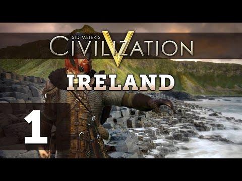 Civilization 5: Deity Ireland Let's Play - Part 1