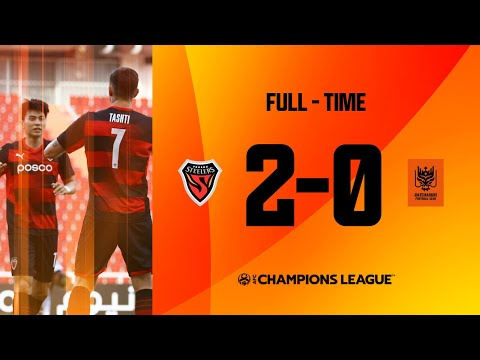#ACL2021 - Group G   FC Pohang Steelers (KOR) 2 - 0 Ratchaburi FC (THA)