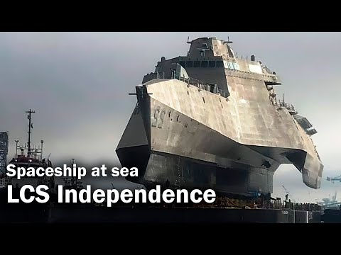 LCS Independence - the ship from the future