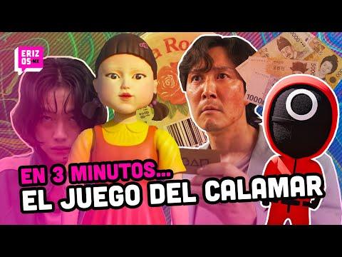 'El Juego del Calamar' el FENÓMENO de las series, con todo y versión mexicana | En 3 minutos