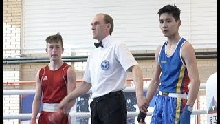 Международный турнир по боксу в Коркино
