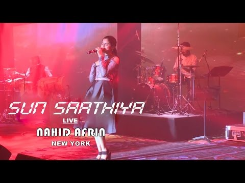 Sun Saathiya by Nahid Afrin Live in New York | Vishal and Shekhar blast at Jorhat, KU Hd Video