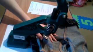 Видео инструкция по установке люверсов при помощи универсального пресса(, 2013-04-28T14:30:48.000Z)