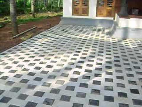 Brick Paver Blocks Grip On Tiles Thrissur Youtube