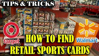 How to find Reтail Sports Cards at Target & Walmart in 2021 - Tips and Tricks