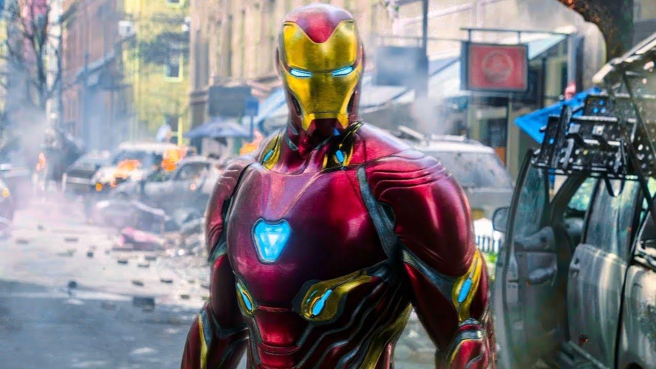 Download Iron Man Nano Tech Suit Up Scene (Hindi) ► Avengers Infinity War Movie CLIP HD