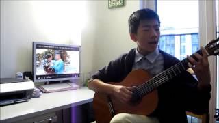 Thời gian đi đâu mất rồi. Nhạc phim《Bố mẹ trẻ》时间都去哪儿了Guitar by Vincent LUONG 梁有荣 (12岁)