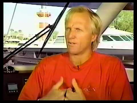 Greg Norman talks about the 1996 Masters with Jim Nanz