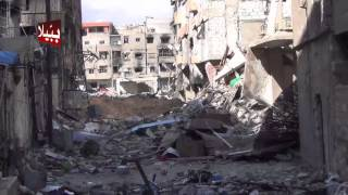 ببيلا ريف دمشق الدمار الهائل الذي خلفته عصابات الاسد