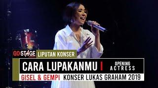 Download lagu GISEL CARA LUPAKANMU OPENING ACT LUKAS GRAHAM LIVE IN JAKARTA 2019